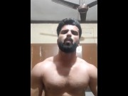 DESI MUSCULAR INDIAN HUNK JERK BIG COCK _ Mayank Mishra download
