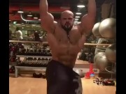 HUGE ARAB BODYBUILDER  video