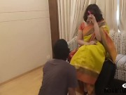 Indian Mistress tortures Two slave full faceslapping and humiliating femdom for free