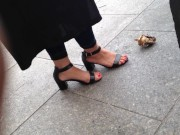 Candid Indian feet in high heels download