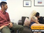2 Indian boys fuck hot European girl in Threesome sex video