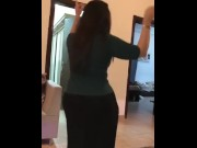 arab college student dancing before getting dicked porn