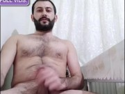 MACHO STRAIGHT ARAB DUDES FUCKING OWN HANDS AND SHOOTING CUM porn