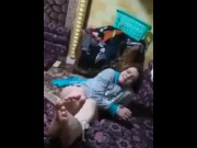 Egyptian Arabic Lesbian Falaka Feet video