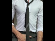 ARAB MAN IN SUIT & TIE AND 9 INCH COCK porn