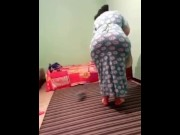 BIG FAT ARAB ASS HIJAB NIQAB BBW WIFE #3 for free
