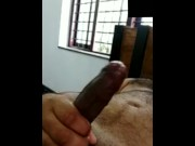 Indian hairy jerk off big dick  video