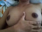 Malaysian Indian Big boobs naked playing herself moaning download