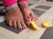 Indian Barefoot Crush porn