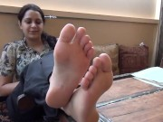 Indian Pink Feet porn